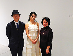 講演終了後、上田館長と徳川名誉館長と