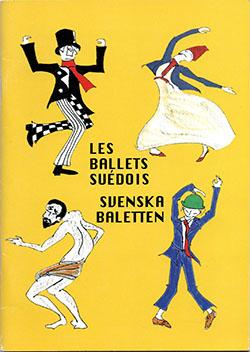 1998年のバレエ・スエドワ公演のプログラム表紙