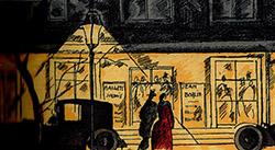 1920年に雑誌に掲載されたイラスト